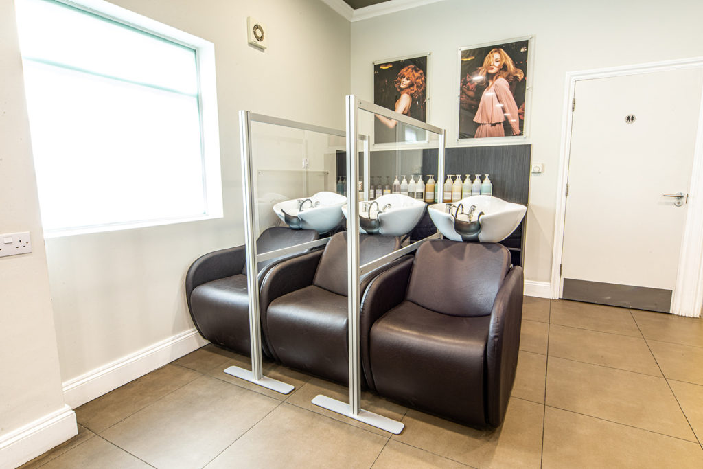 backwash at stephen young hairdressers west wimbledon