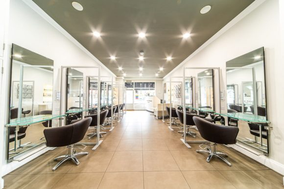 inside stephen young hair salon west wimbledon
