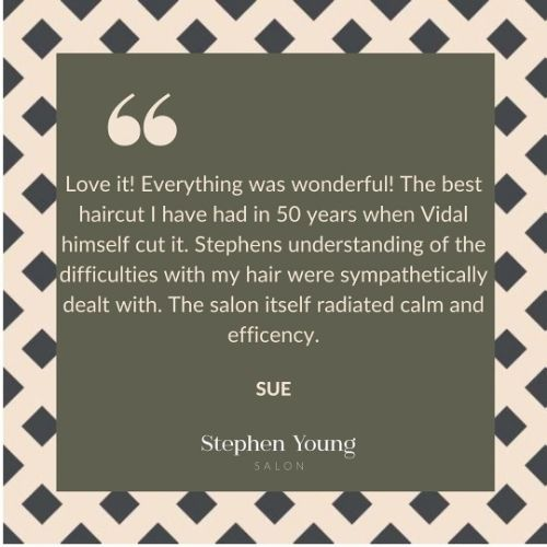 Stephen Young Salon in West Wimbledon, Client Review