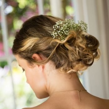 Upstyles For Brides Wedding Hair at Stephen Young Salon