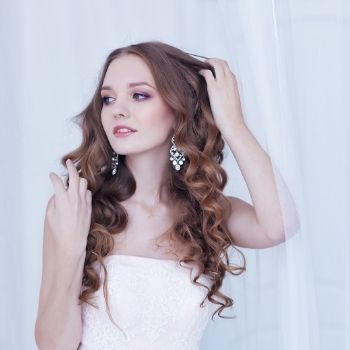 Wavy Hairstyles For Brides Stephen Young Salon in West Wimbledon
